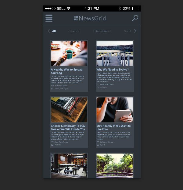 filled articles