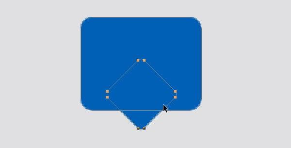 Designing Icon Base- Positioning the shape