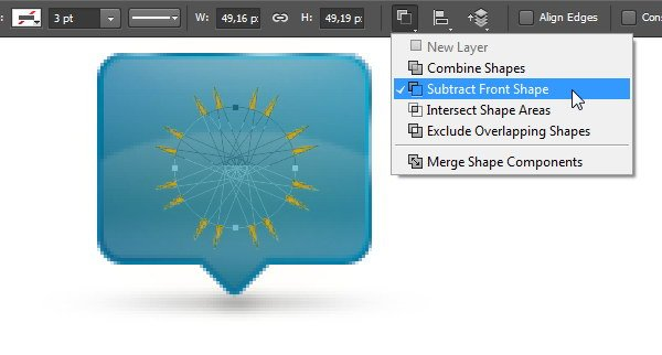 Add Icon Sign - Subtract with a circle shape