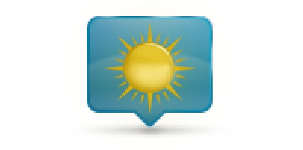 Add Icon Sign - Flare behind the sun