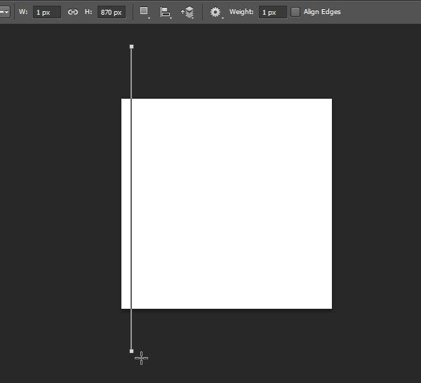 Draw a line using Line Tool