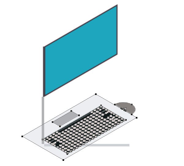 Fixing keyboard orientation