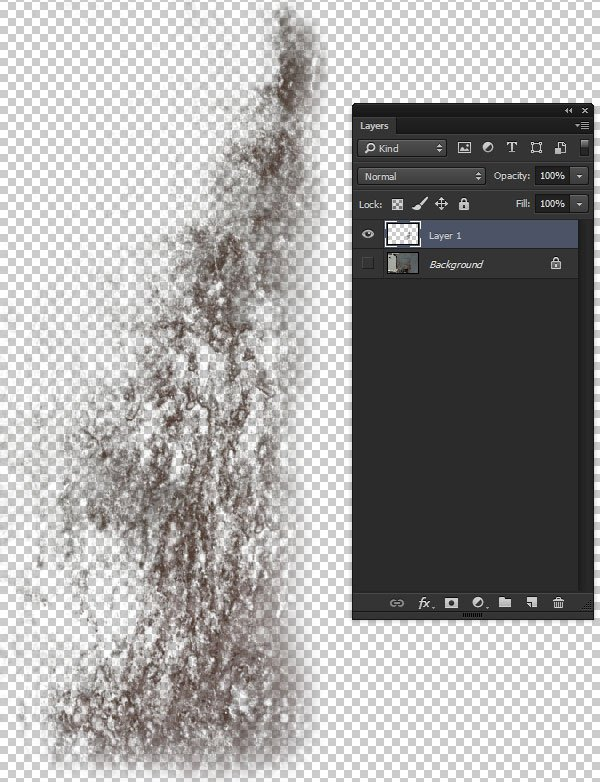 Copy to a new layer and touch up with the eraser