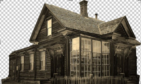 Spooky House ready to go