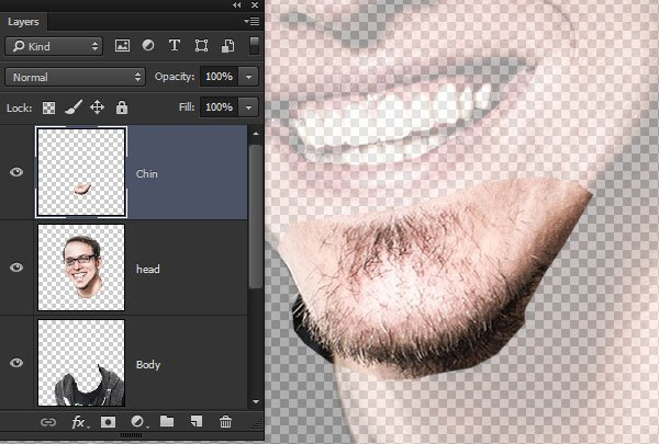 Create a Chin Layer