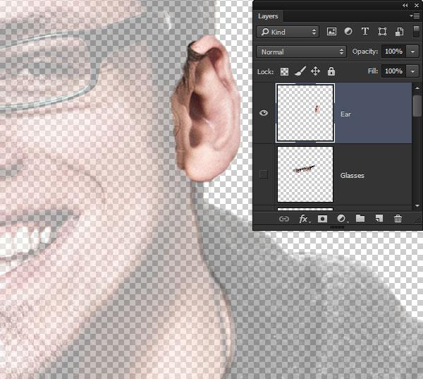 Create the ear layer