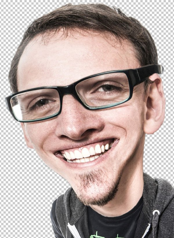 Use layer masks to blend the layers together