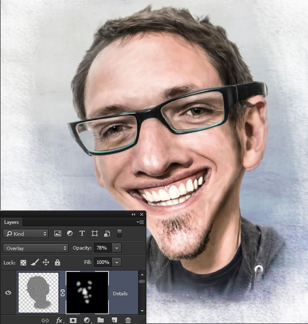 Reveal the details with a layer mask