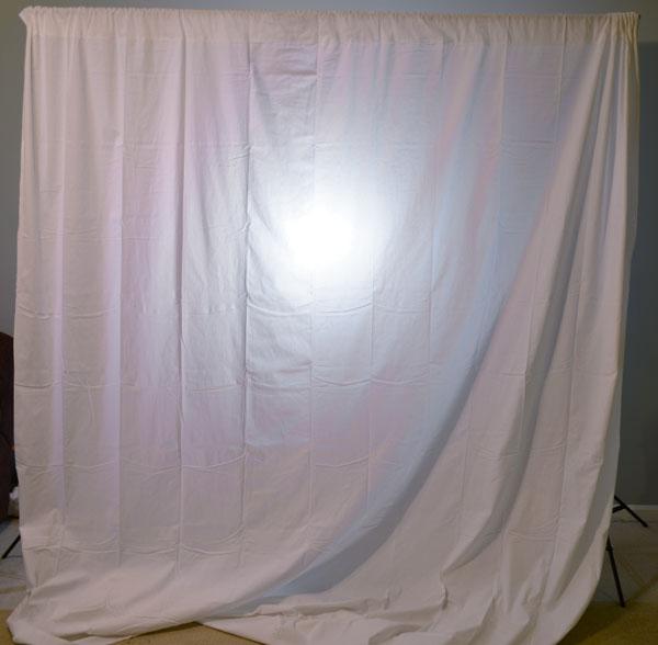 Final backlit setup