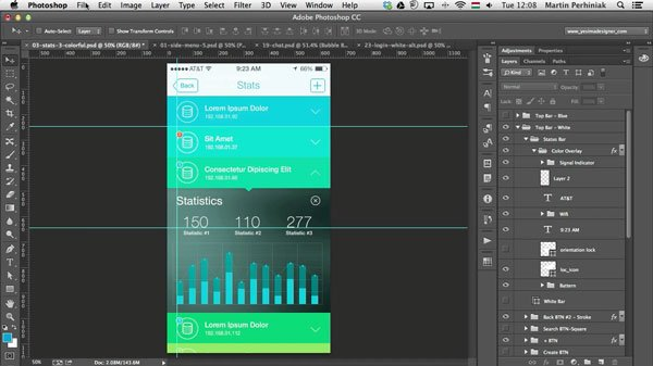 10 Ways to Create Professional and Organized PSD Files