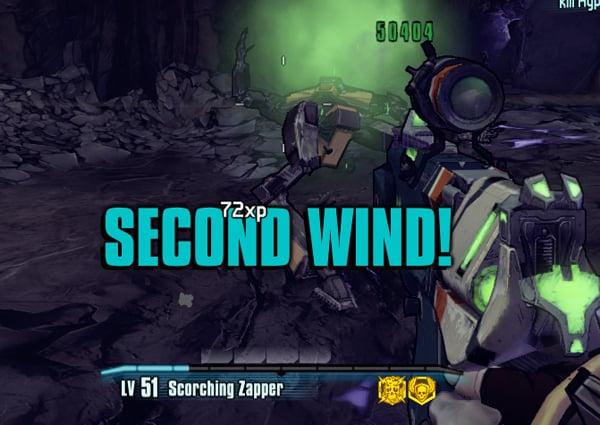 Borderlands 2 second wind