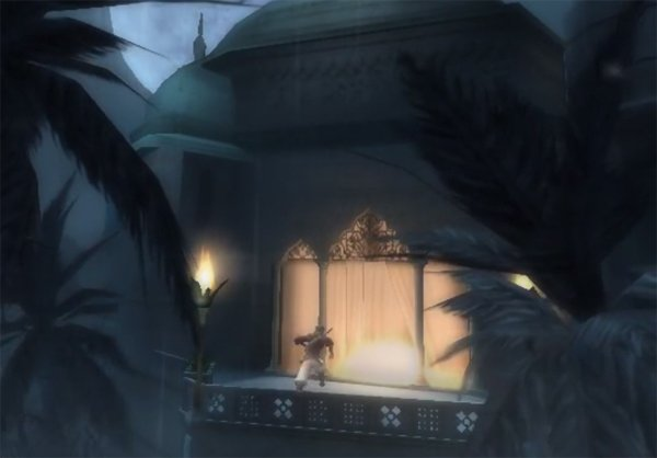 Prince of Persia The Sands of Time starting scene
