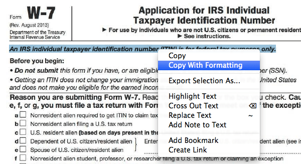 OCRed text in Acrobat