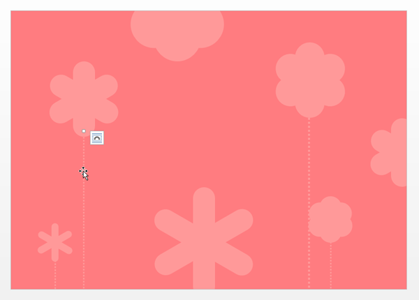Tweaking the color and the Dashes options of the stems