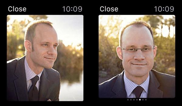 Apple Watch Modal Sheets