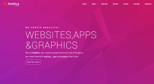 RedRice - WordPress One-Page Multipurpose Theme