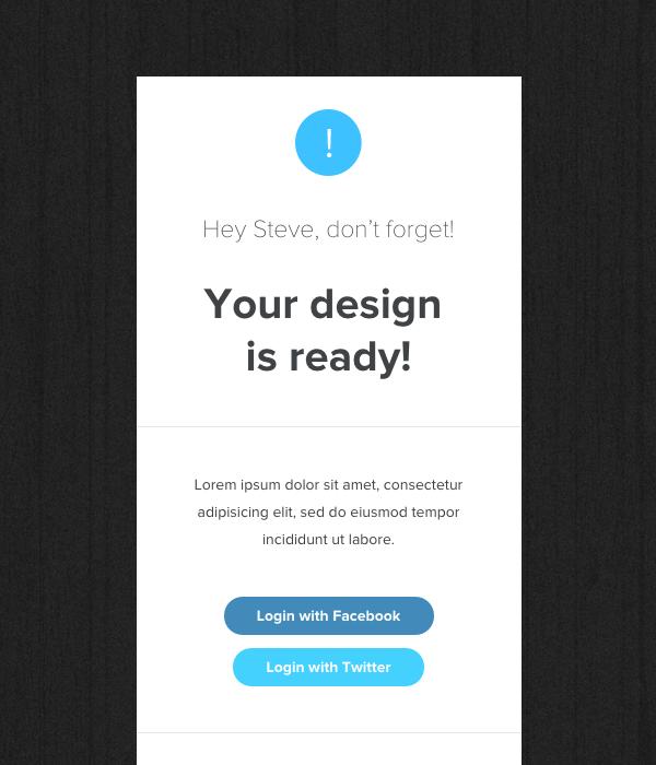 Notify - Notification Email  Themebuilder Access