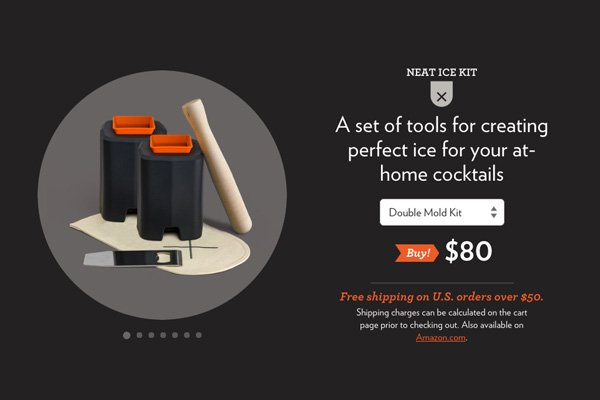 Studio Neat product image on their Neat Ice Kit product page