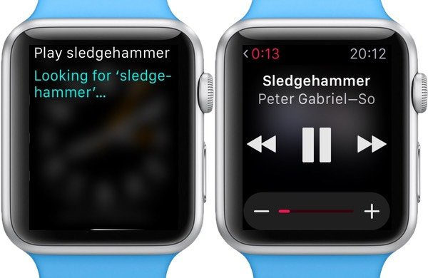 Use Siri to search for and play music from your iTunes library