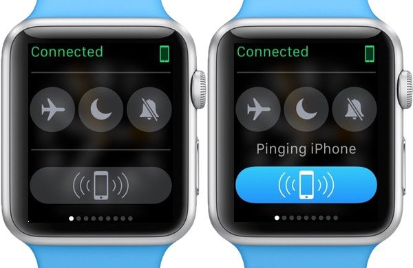 Ping the iPhone to locate it if you misplaced it nearby