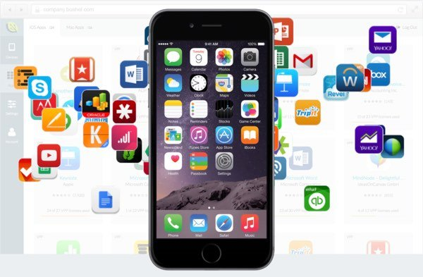 Bushel enables you to distribute specific apps to enrolled devices