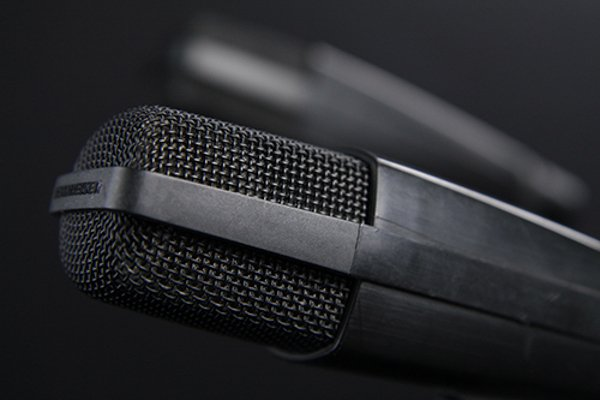 A Sennheiser MD421 Microphone