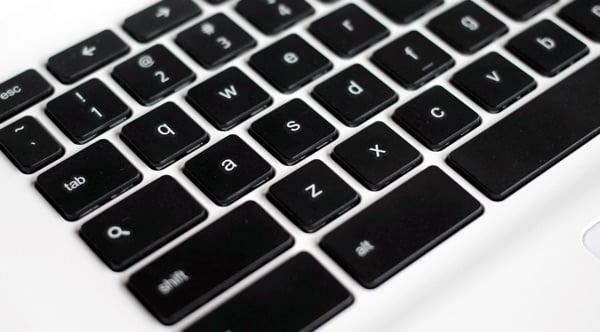 Chromebook keyboard