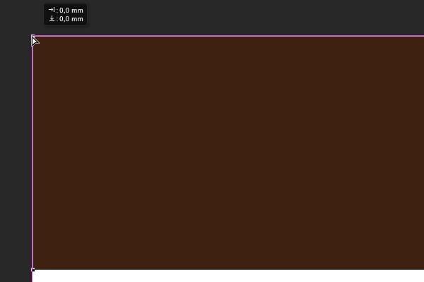 Add dark brown rectangle