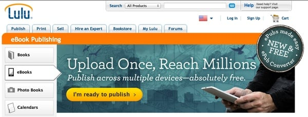 Let Lulu Publish Your Book to Amazon
