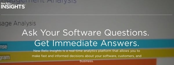 New Relic Insights Ask Your Software Questions Get Answers
