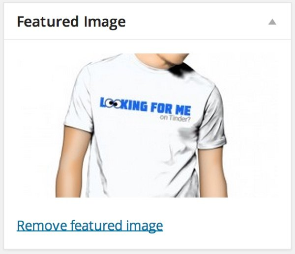 Set the Featured Image for Your Post