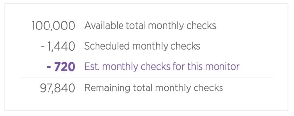 New Relic Synthetics Your Monitoring Budget
