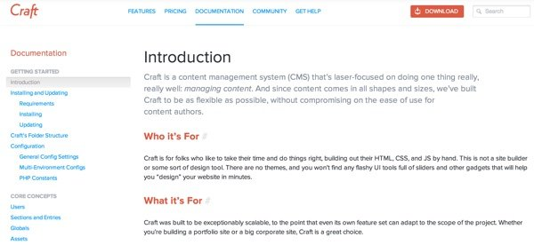 Craft CMS Documentation