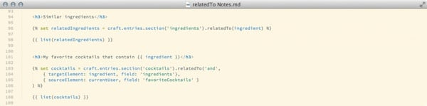 Craft CMS Relations in Twig Templates