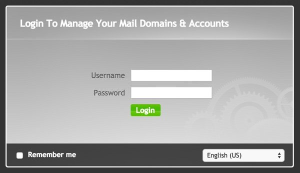 iRedMail Administration Login