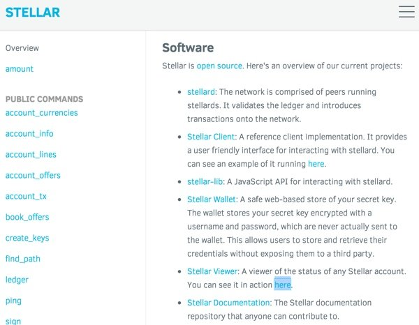 Stellar API Documentation