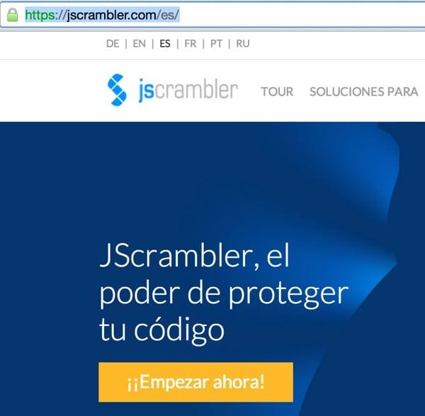 JScrambler Dynamic Language Paths