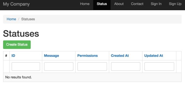 Status Controller Open access to anything regardless of login state