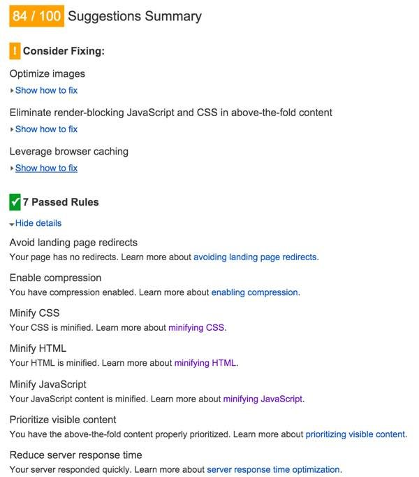 Optimizing PageSpeed - Minify JavaScript Resolved