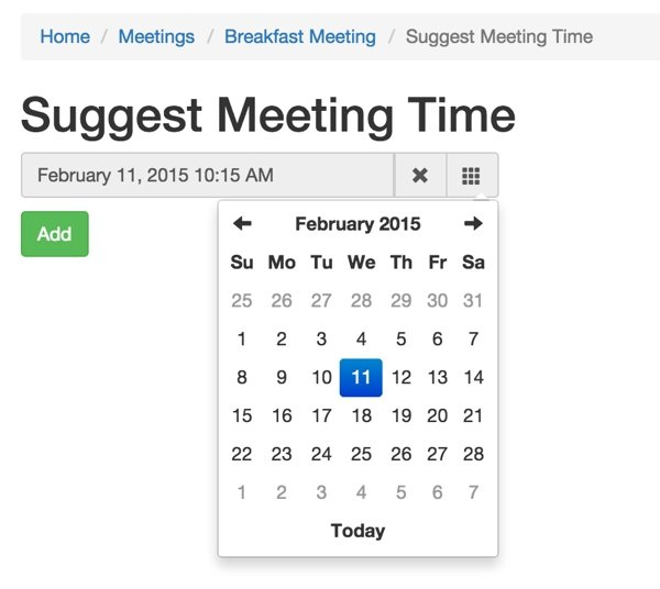 MeetingPlanner Suggest a Meeting Time