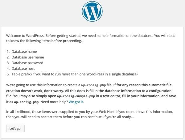 WordPress What Youll Need