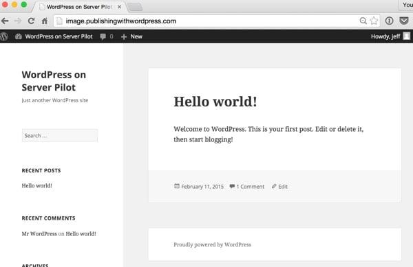 WordPress Your New Website