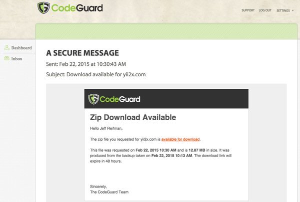 CodeGuard Download Available