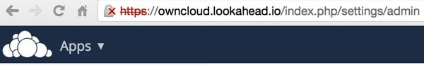 OwnCloud HTTPS Certificate Not Trusted
