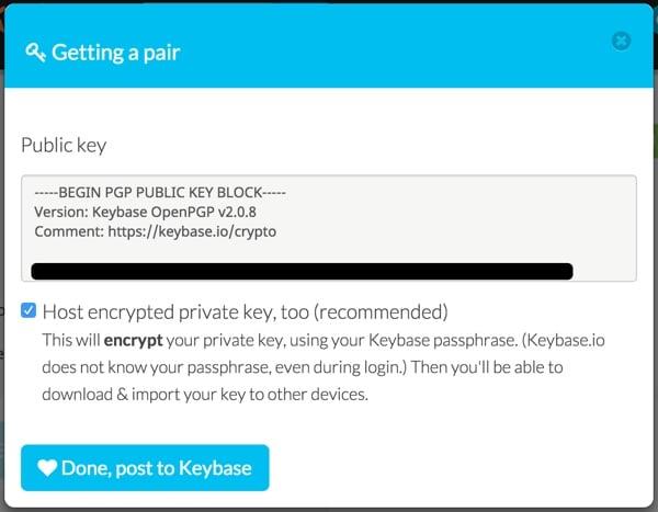 Keybase Jeff Reifman Key Pair