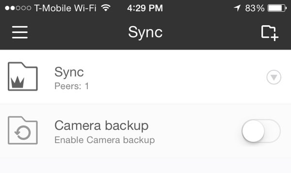 Sync iOS Mobile Sync Folders