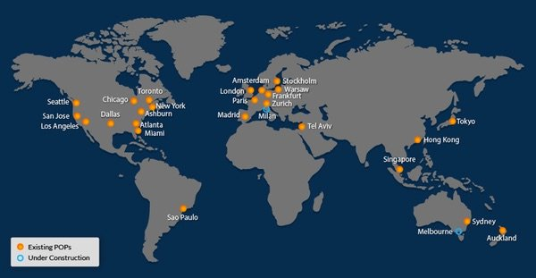 Incapsula Global Data Centers