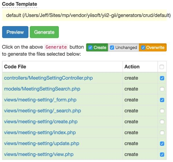 Customizing Meeting View - Manually limiting files to overwrite