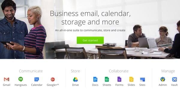 Amazon AWS Alternatives - Google Apps for Work