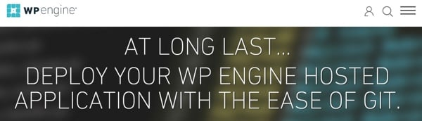 WP Engine Git Support